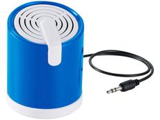 Динамик проводной Looney, синий фото
