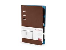 Ежедневник недатированный А5 Firenze, коричневый фото