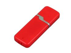 Флешка USB 3.0 на 128 Гб с оригинальным колпачком, красная фото