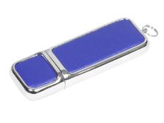 Флешка USB 3.0 на 32 Гб компактной формы, синяя фото