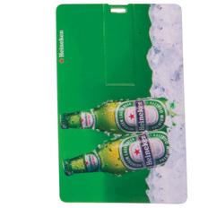 Флешка в форме кредитной карты фото