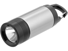 Фонарик Mini Lantern, черный, серый фото