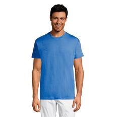 Футболка мужская Sol's Regent, ярко-синяя фото