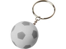 Футбольный брелок Striker, белый/серый фото