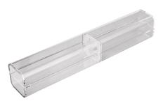 Футляр для ручки тубус Open Crystal, прозрачный фото