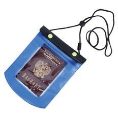 Футляр водонепроницаемый универсальный, синий фото