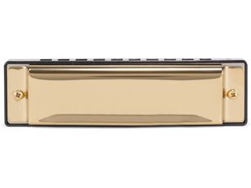 Губная гармошка DIY Harmonica, золотая фото