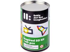 Гибкий конструктор Linkie 2D, разноцветный фото