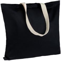 Холщовая сумка Shelty, черная фото
