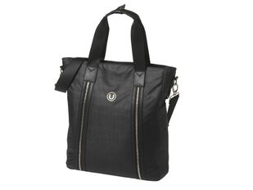 Хозяйственная сумка Simply U, чёрная фото