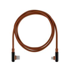 Кабель Rombica Digital Electron M, коричневый фото