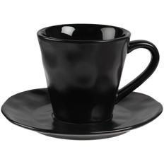 Кофейная пара Dark Fluid, черная фото