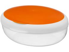Контейнер для ланча Maalbox, белый/ оранжевый, прозрачный фото