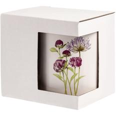 Коробка для кружки с окошком, белая фото