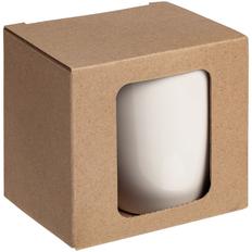 Коробка для кружки Window, крафт фото