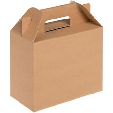 Коробка In Case S, крафт фото