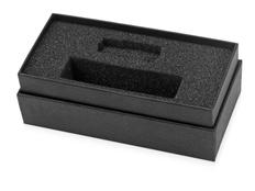 Коробка с ложементом Smooth S для зарядного устройства и флешки, черный фото