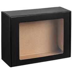 Коробка с окном Visible, черная фото