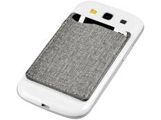 Кошелек для телефона с защитой от RFID считывания, серый фото