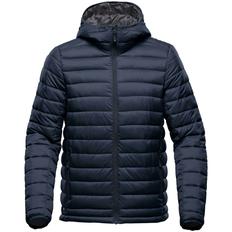 Куртка компактная с капюшоном мужская Stormtech Stavanger, темно-синяя фото