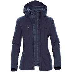 Куртка-трансформер с капюшоном женская Stormtech Matrix, темно-синяя фото