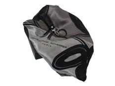 Набор: брелок, шелковый платок, серый фото