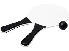 Набор для пляжных игр Bounce, белый/чёрный фото