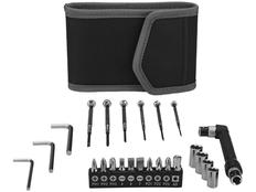 Набор инструментов в чехле, черный/ серый фото