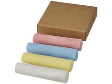 Набор цветных мелков, разноцветный фото