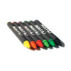 Набор восковых карандашей, 6шт, многоцветный фото