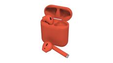 Наушники беспроводные с зарядным кейсом True Wireless Ritmix RH-825BTH, красные фото