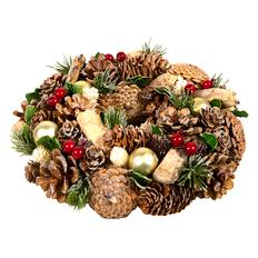 Новогоднее украшение на дверь CHRISTMAS фото