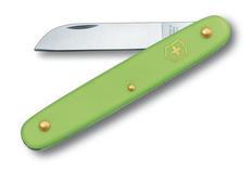 Нож Victorinox EcoLine Floral, салатовый, 1 функция, в картонной коробке фото
