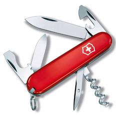 Нож Victorinox Tourist, красный, 84 мм, 12 функций фото