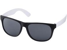 Очки солнцезащитные Retro, УФ 400, черный/белый фото