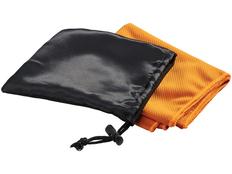 Охлаждающее полотенце Peter в сетчатом мешочке, оранжевое фото