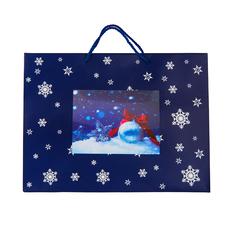 Пакет малый BLUE WONDER, синий фото