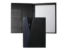 Папка A4 Lapo, чёрно-синяя фото