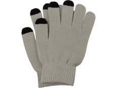 Перчатки для сенсорного экрана Сет, размер S/M, темно-серый/черный фото
