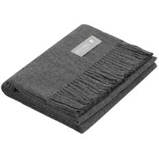 Плед Elvang Luxury, темно-серый фото