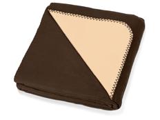 Плед Ланкастер, коричневый, бежевый фото