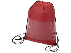 Плед в рюкзаке Кемпинг, красный фото