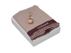 Подарочный набор Bird: брелок, шарф, розовый фото