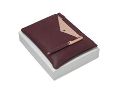 Подарочный набор Bird: ручка шариковая, сумочка, бордовый фото