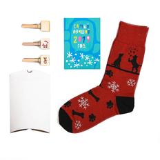 Подарочный набор Счастливый год, черный, красный фото