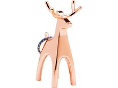 Подставка для колец Anigram Олень, оранжевый фото