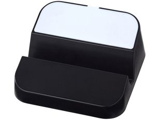 Подставка для телефона и USB хаб 3 в 1 Hopper, белая/ черная фото