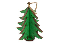 Подвеска елка, зеленый фото