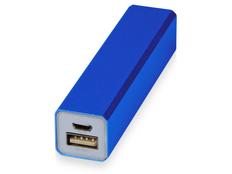 Портативное зарядное устройство Брадуэлл, 2200 mAh, синее фото