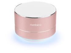 Колонка портативная Rombica Mysound BT 03 3C, розовая фото